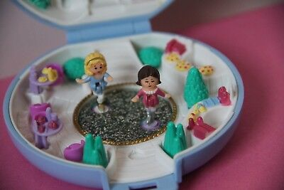 Polly Pocket Skating Party 1989 Bluebird 100% complete