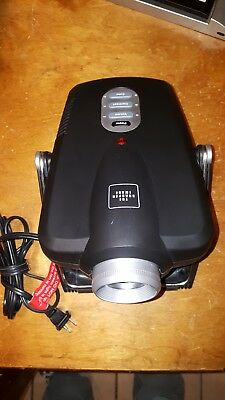 Used The Sharper Image Movie / Video Game Entertainment Projector Ec-Pj10