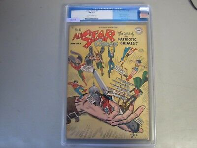 All Star Comics #41 CGC 5.5 Comic Book 1948   Black Canary Joins JSA