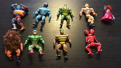 Masters of the Universe - MOTU LOT 4 - Bundle of Action Figures from 1980s