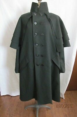 Colonial Regency Victorian Reproduction Greatcoat