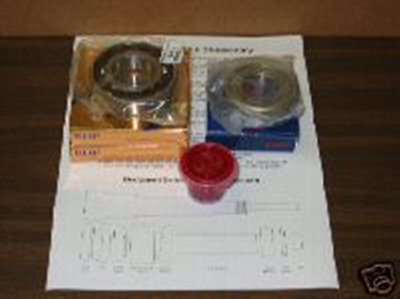 Spindle Rebuild Kit For Vs Or Step Pulley Bridgeport Mill With Instructions