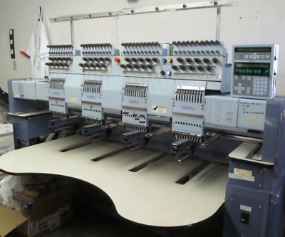 commercial embroidery machine - Happy Embroidery Machine 4 head 10 color BEST!