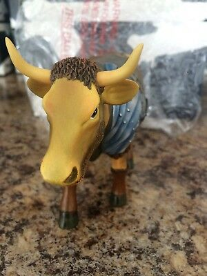 "COW PARADE  ""Gladiator Cow"" #7249 - New in Box w/ original Tag 2002"
