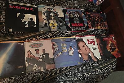 Lot Of 9 Laser Discs Some Rare Titles 3 Sealed 6 Open Men At Work Young Guns Big