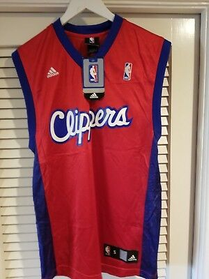 b683aa8d5 NWT NBA LOS Angeles Clippers 100% Authentic Reebok Blank Jersey ...