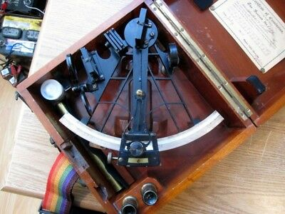 Sextant Quintant Heath & Co. Rare Model Marine Navigation