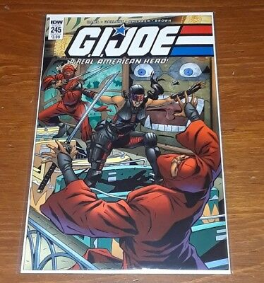 G. I. Joe #245 Cover A First Female Snake Eyes Cover HOT & HTF Huge Auction Now!
