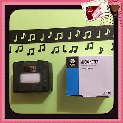 "Cartridge For Creative Memories Border Maker ""Music Notes"""