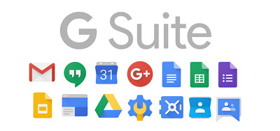 Google Apps GSuite account free forever / Standard Edition (200 users/mailboxes)