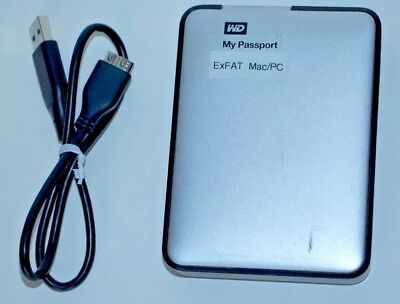 2TB Western Digital My Passport HDD (for PC and MAC)