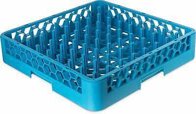 Carlisle RTP14 OptiClean Tall Peg Plate Rack, Blue Pack of 6