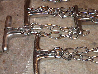 Police Wrist Handcuff  Chain Twister Come-Along.  East German.  Unissued.