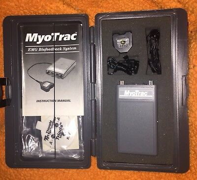 Thought Tech MyoTrac Electromyograph EMG Biofeedback systems Model 4000 Works