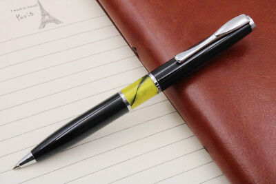 Jinhao office black new gift metal Acrylic silver BallPoint Pen