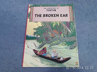 The Adventures of Tintin: The Broken Ear by Herge Herge (Paperback, 1978)