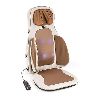 Massage Cushion Electric Massager Shiatsu 3D Heated Remote Control Back Shoulder