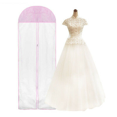 Useful Wedding Dress Clothes Bridal Gown Garment Dustproof Storage Bag Cover