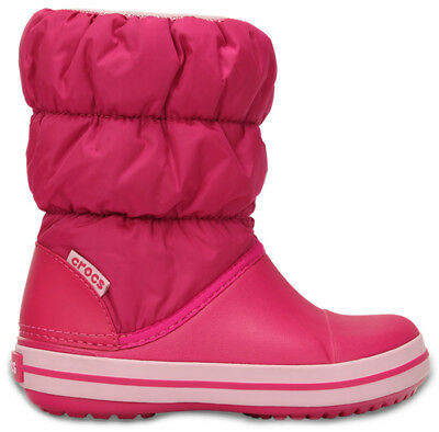 Crocs Winter Puff Boot Kids - Candy Pink