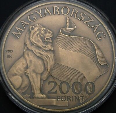 HUNGARY 2000 Forint 2017 - Parliament Building - UNC - 3200 ¤