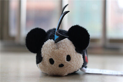 "NEW 2017 Disney Store Tsum Tsum Mickey Mouse Mini 3.5"" Plush Doll"