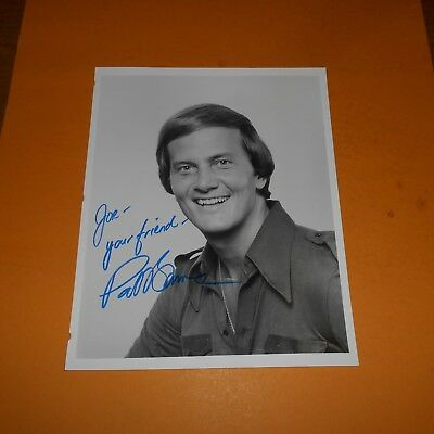 Pat Boone is an American singer, composer, actor   Hand Signed Photo