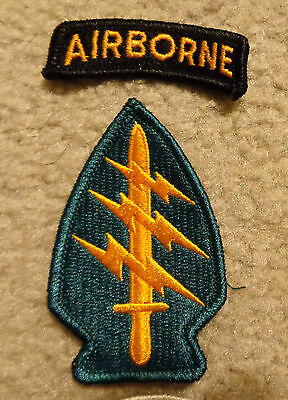 Us Army Patch,1St Special Forces Regiment, Worn By All Sf Groups