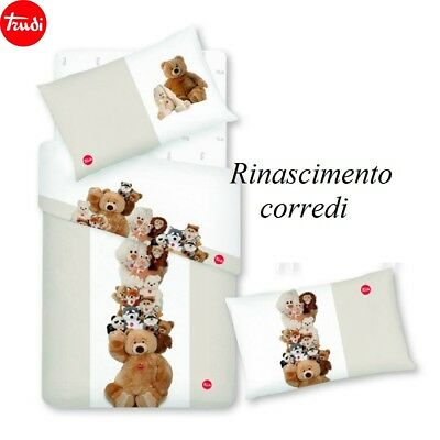 Lenzuolo Lettino Culla Cotone Trudi Completo Letto Gabel All Together Beige