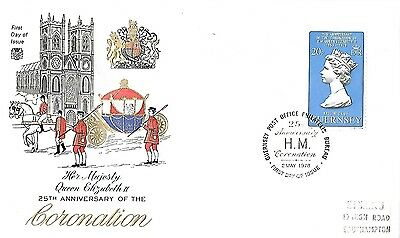 2/5/78 25th ANNIVERSARY OF THE CORONATION OF QUEEN ELIZABETH 11 FDC