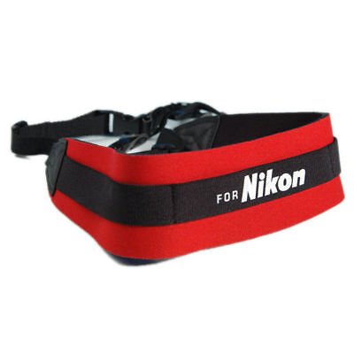 "KOOD for Nikon Camera Strap Comfort Padded Digital / Film - 3/8"" Webbing - UK"