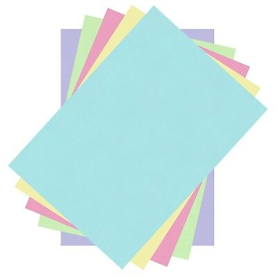 CREAM 100 SHEET   A6 COLOURED CARD 170GM CHOICE OF 23 COLOURS PASTEL INTENSIVE