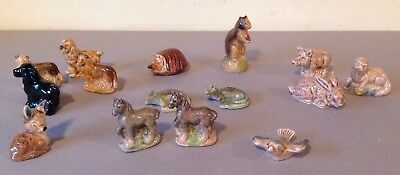 Wade Whimsies - Job Lot  Of 15 Animals