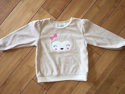 Baby Girl Owl Sweater - 12 Months - Child Of Mine By Carter's