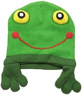 Kidorable Frog Hat, Soft Knit Hat for Kids, Green, One Size Fits Most, Knit Hat