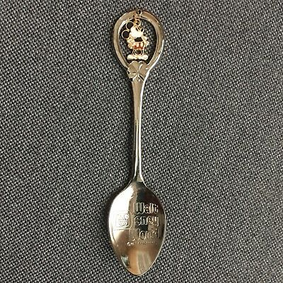 Vintage 1980s Walt Disney World Mickey Mouse Sterling Silver Collectors Spoon