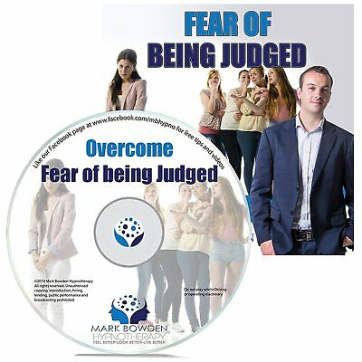 Overcome Fear Of Being Judged Self Hypnosis CD - Hypnotherapy CD to Be Boost and