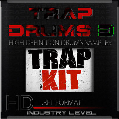 Reason Refills Trap Drums 3