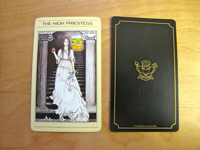 MYTHIC TAROT single replacement cards black back Tricia Newell Vintage 1986