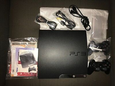 Sony PlayStation 3 Slim Launch Edition 160GB Charcoal Black - PS3 Blu-ray Player