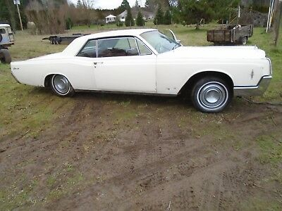 1966 Lincoln Continental Leather 1966 Lincoln Continental 2 door coupe