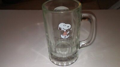 Snoopy And A&w Heavy Mug -Rare  To Find With Snoopy On