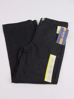 Cherokee Target Kids Boys Black Chino School Uniform Dress Pants Sz:5 Nwt