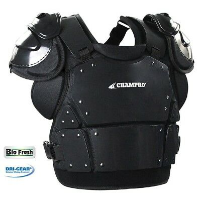 """Champro Pro-Plus Plate Armor Umpire Chest Protector Cp335 - Large (14.5"""")"""