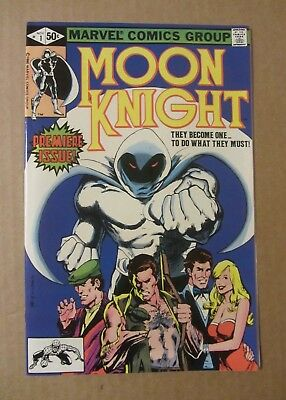 Moon Knight #1 (1980) NM details (foxing back cover)...origin Moon Knight Part 1