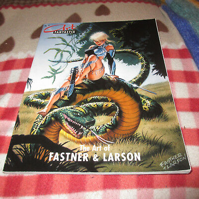 Art Fantastix Nr. 8 - The Art of Fastner & Larson-  Fantasy Comic/ Erotik