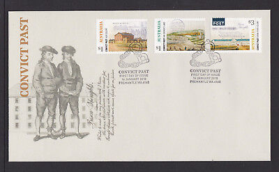 Australia 2018 : Convict Past, First Day Cover. Mint Condition