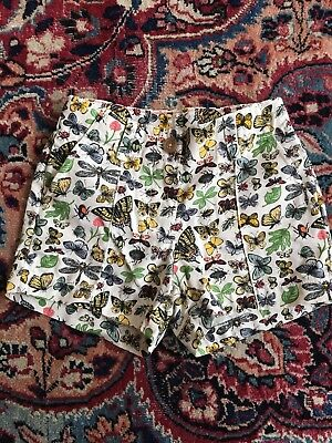 Jcrew Crewcuts Girls Size 5 Botanical Print Shorts