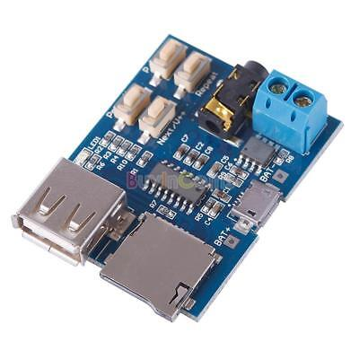 MP3 Player Audio Decoding Decoder Module Board With Micro USB Port jkus