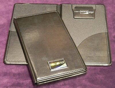 New 5 Pcs Double Panel Check Presenter Discover Restaurant Server Books Lot
