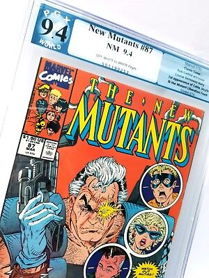New Mutants #87 Professionally Graded 9.4 NM FIRST APP CABLE! Gorgeous book!